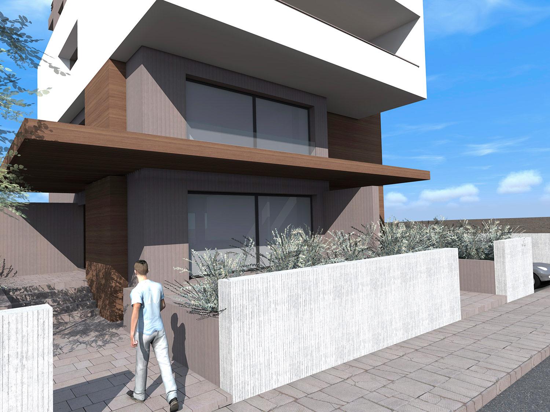 Apartment Building in Halandri