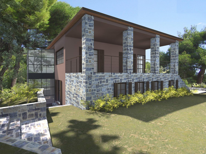 Vacation House in Oinoi, Attica